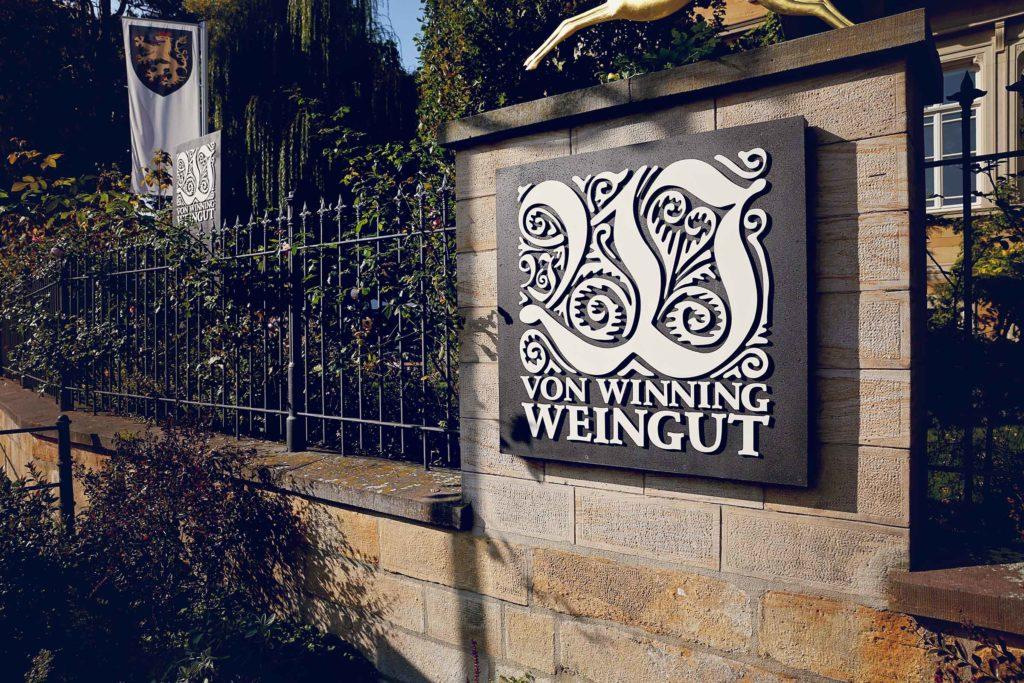 Die perfekte Hochzeit auf dem Weingut Von Winning in Deidesheim