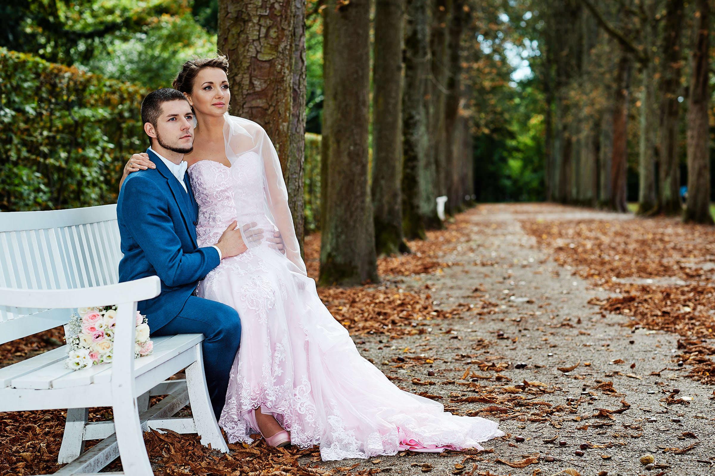 After-Wedding-Shooting im Schwetzinger Schlossgarten