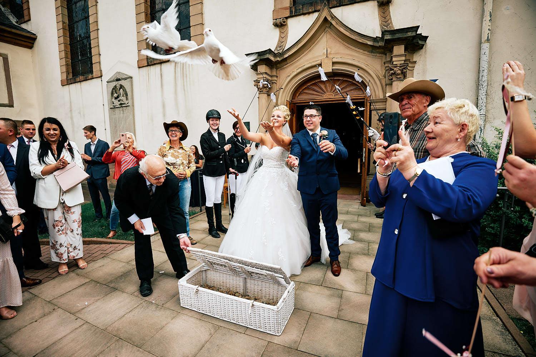 Die Deutsch-Polnische Hochzeit in der Pfalz begann in Grünstadt